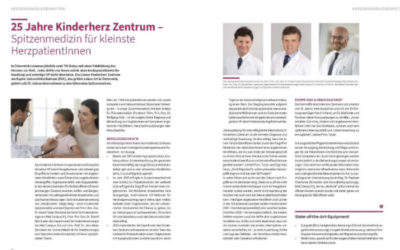 25-year anniversary of the Children's Heart Center Linz