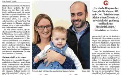 Cardiac surgery before birth: Marlenes difficult start into a normal life