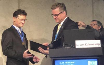 Award of the Haackert Goldmedal